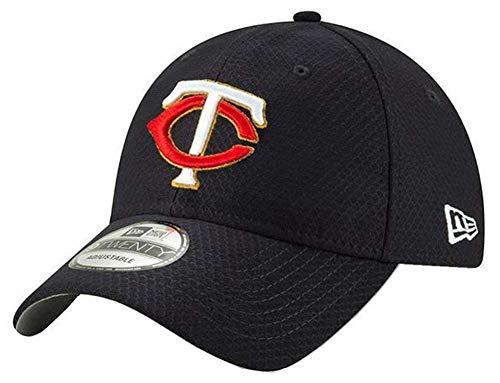 New Era 2019 MLB Minnesota Twins Baseball Cap Hat Home Bat Practice BP 9Twenty Navy ()