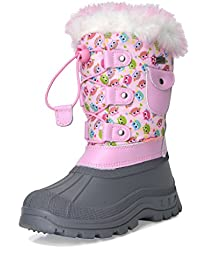 Boys & Girls KSNOW Insulated Waterproof Snow Boots