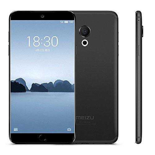 Unlocked Smartphone Meizu 15 Lite M15 4G LTE Cell Phone 4G RAM 64GB ROM Snapdragon 626 Octa Core 5.46' 1920x1080P AMOLED Screen 20M Camera Fingerprint ID Fast Charger Mobile(Black) (Black)