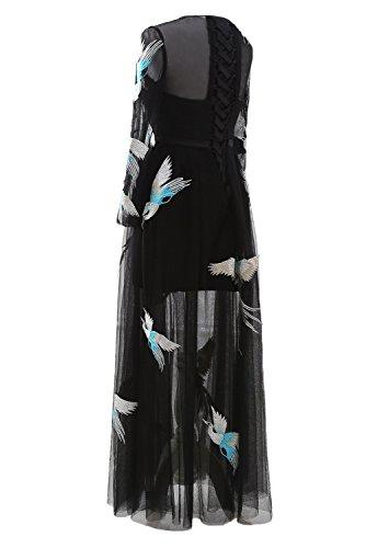 Spitze Blumen Abendkleider Ivydressing Ballkleider Cocktailkleider 20249DS Neu Kurz Damen Partykleider Lang 2017 qwXSFz