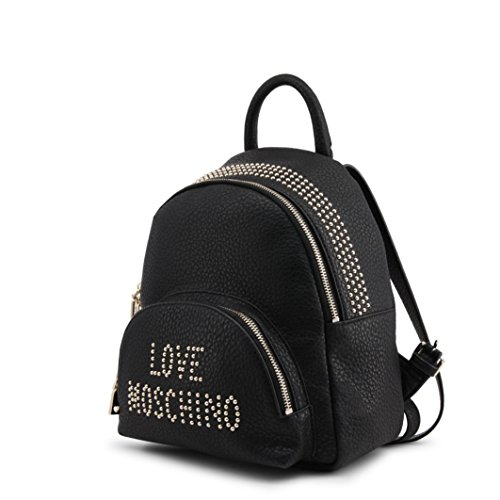 Love Handbag Women��s Pu Moschino Grain Borsa Black Backpack qxwvURfq