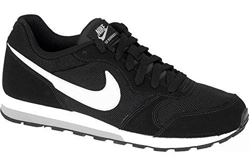 Nike white Grey Chaussures Garçon gs Running De Runner wolf Md Black 2 Entrainement rBnIqZrv