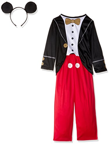Masquerade Costumes Ltd (Rubies Masquerade Ltd Little Boys' Mickey Mouse Tuxedo Costume 2-3 Years Black)