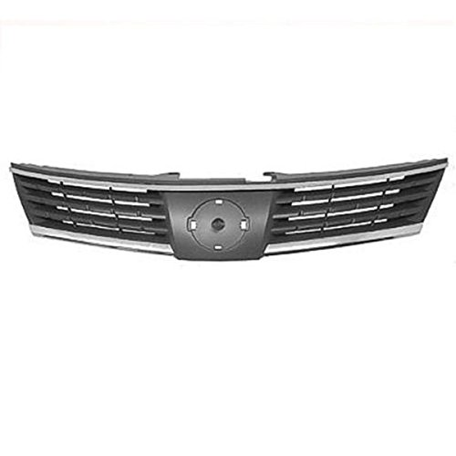 Koolzap For Front Grill Grille Assembly Chrome/Black NI1200224 62310EM30A 07 08 09 Versa