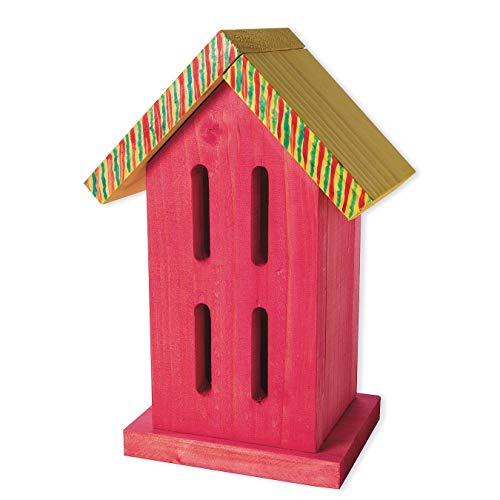 Unfinished Butterfly House, Unassembled (House Kit Butterfly)