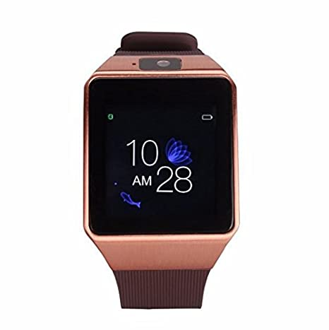 Amazon.com: Bluetooth Smart Watch Touchscreen with Camera, TechFaith G12 Unlocked Watch Cell Phone with Sim Card Slot, Smart Wrist Watch, Smartwatch for ...