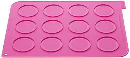 Silikomart Silicone Wonder Cakes Collection Whoopies Pie Mat with 24 Disposable Piping Bags