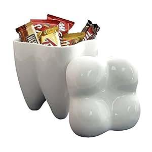 Sweet Tooth Ceramic Cookie Jar