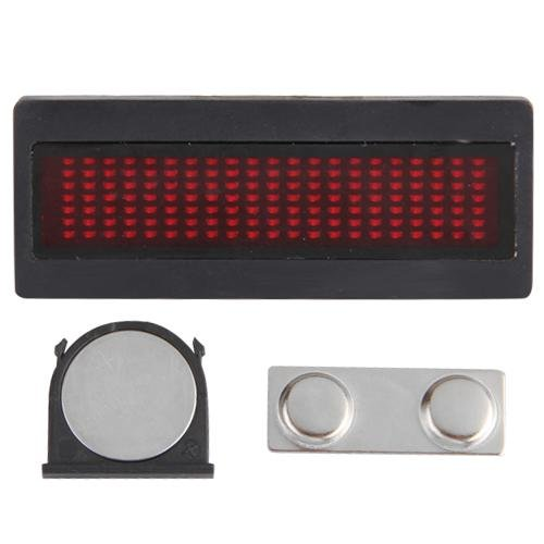COLEMETER® Rot LED Leuchtreklame Schild Leuchtschild Namensschild