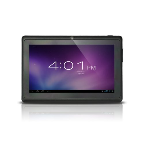 Alldaymall(TM) 7-inch Capacitive Touch Screen Android 4.0 Tablet PC with Allwinner A13 1.0GHz 512MB/4GB WiFi Front-camera (Black), Best Gadgets