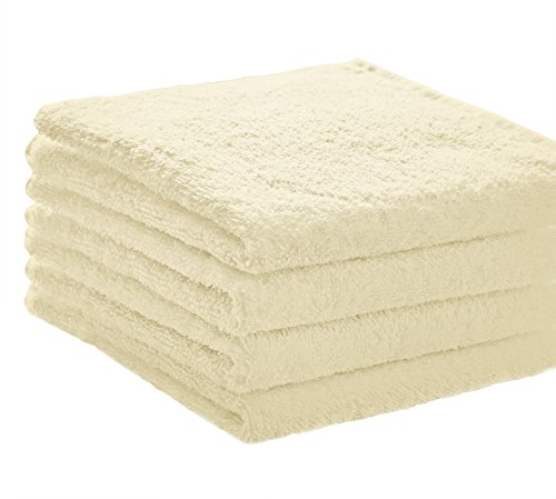 Cream Hand Towels - 4