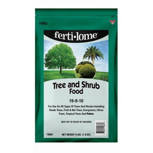 Voluntary Purchasing Group Fertilome 10864Tree and Shrub Food, 19-8-10, 4-Pound