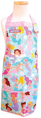 - The Piggy Story 'Magical Mermaids' Child's Fun Time Apron for Arts, Crafts and Cooking