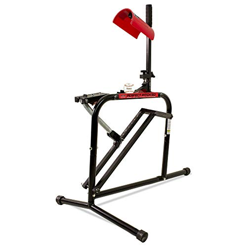 Heater Sports Perfect Pitch 50 MPH Baseball & Softball Pitching Machine for Kids, Teens, Adults, Pitch League, and Coach Pitch - PP149 (Best Pitching Machine For Little League)