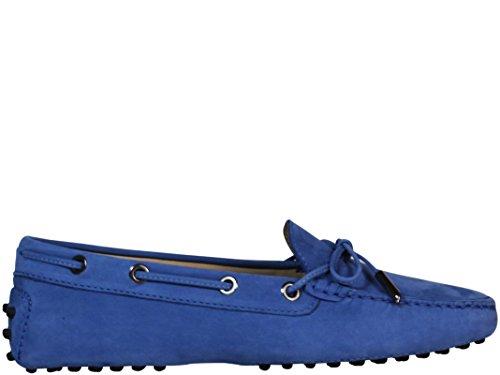 Tod's Mocassini Donna XXW0FW05030O6SU419 Pelle Blu