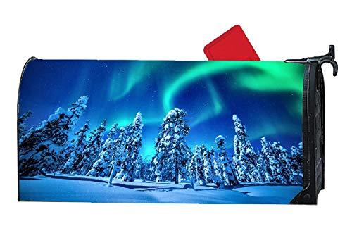 Design A Colorful Northern Lights Landscape in US - 8
