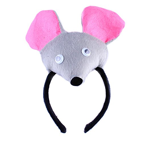 bbhoney Animals Cute Headband Party Costume Ear Headband Cosplay (Rat Costume For Baby)
