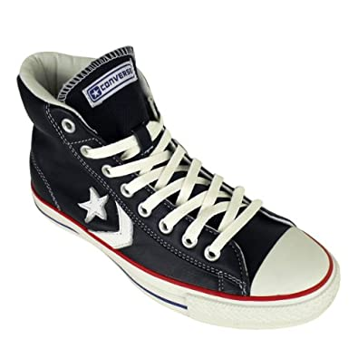267f319539ce60 Mens Converse Star Player EV Mid Shoes Leather Trainer Trainers Size UK 11
