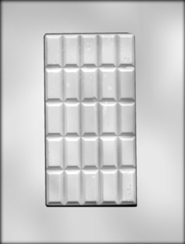 Break Apart Bar Candy Molds (CK Products 3-1/2-Inch by 6-5/8-Inch Break-Apart Bar Chocolate Mold)
