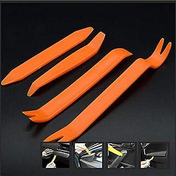 4 piezas de la puerta del coche de pl/ástico Recorte Clip Panel Dash Dash Remover Pry Tool Kit
