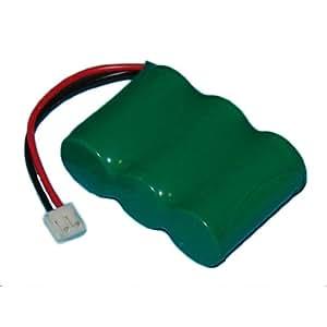 AT&T-Lucent HT-5600 Batería de Teléfono inalámbrico Ni-MH, 3.6 Volt, 700 mAh - Batería de Ultra Alta Capacidad - Repuesto para Batería Recargable Telematrix BATT-9600
