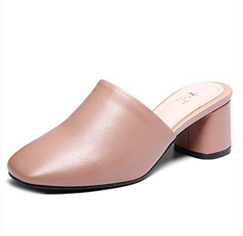 Taille pour plates sandales Couleur talons A à des Baotou avec pantoufles printemps et à sandales brut femmes sandales des A mode avec pour Chaussures Sandales la 36 femmes des FSHqdF
