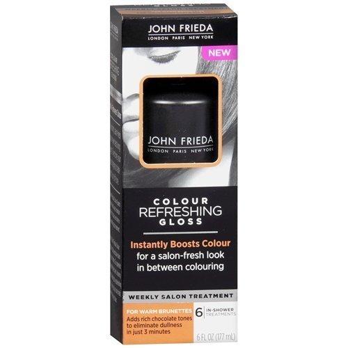 John Frieda Colour Refreshing Gloss, Warm Brunette, 6 Fl Oz