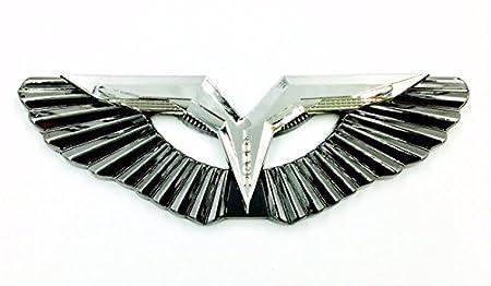 Amazon Com Anzu T Wing Badge Premium Metal Car Suv Emblem Chrome T