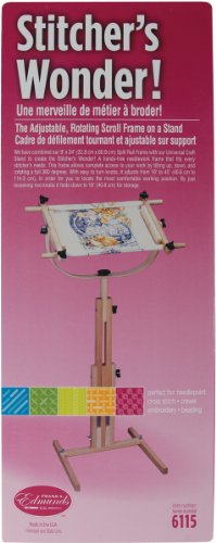 Stitchers Wonder Floor Stand Scroll Frame by Edmunds