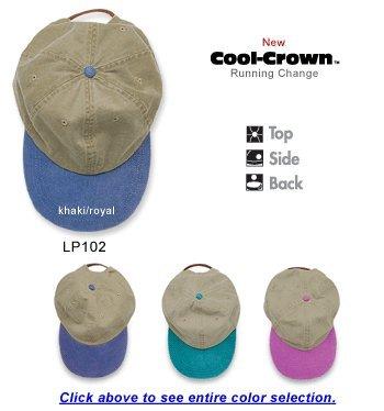 Adams 00820599098079 OPTIMUM - KHAKI WITH CONTRAST BILL LP102 SPRUCE cap ()