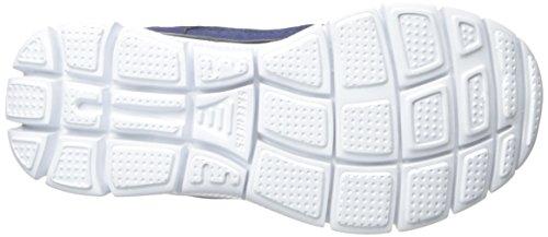 Skechers Flex Advantage 95526L, Zapatillas Deportivos, Niños Azul (Nvyl)