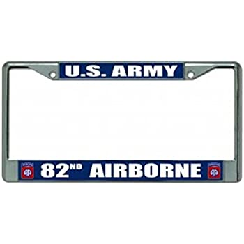 Amazon Com 82nd Airborne Division License Plate Frame