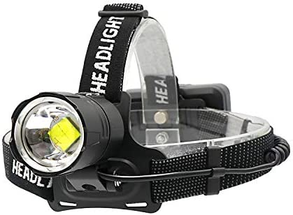 junfeng LED Head Torch Super Bright Lumen Fishing Camping Headlight Led Headlamp High Power Lantern Head Lamp Zoom Torches