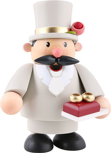 German Incense Smoker Groom - 10 cm / 4 inch - KWO