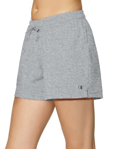 - Champion Women's Jersey Short, Oxford Grey, Medium
