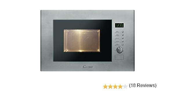 Candy MIC20GDFX - Microondas de encastre con grill, 20 L, 800 W ...