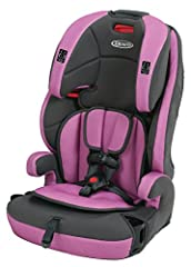 The Graco Tranzitions 3-in-1 harness booster is a convertible car seat designed to grow with your child and go with you, wherever your journeys take you - from car to carpool and beyond. This lightweight car seat Tranzitions seamlessly from h...