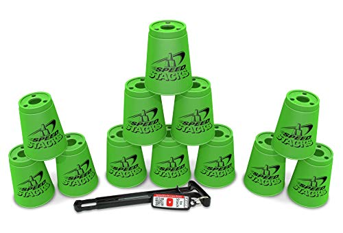 (Sport Stacking with Speed Stacks Cups Neon Green (Cup Stacking))