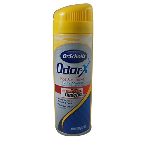 Dr. Scholl's Odor Destroyers Foot & Sneaker Spray Powder 4.70 oz ()