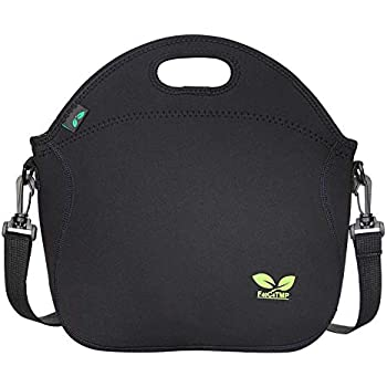 Amazon.com: Insulated Lunch Bag, Nuovoware Neoprene Lunch ...