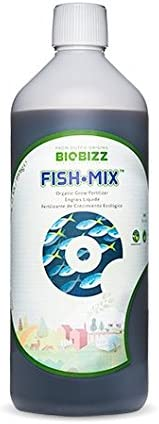 Fertilizante de crecimiento para cultivo en exterior BioBizz Fish-Mix™ (500ml)