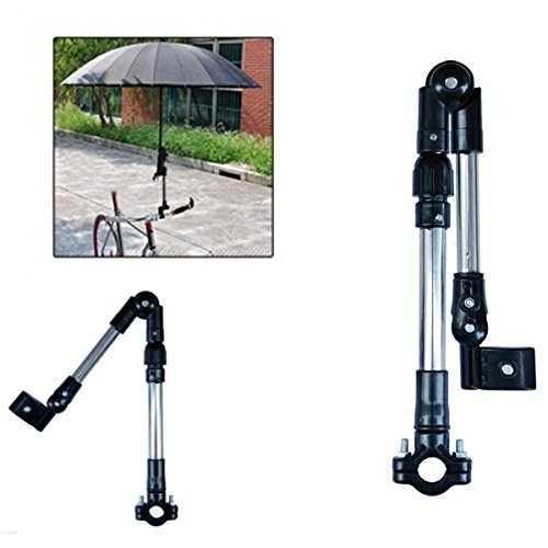 Ideal Sports Accessories Umbrella Holder Mount Stand Connector for Cycle Bicycle Golf Bike Wheelchair Pram