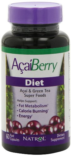 AcaiBerry Diet 120- Pack of 2 by Natrol