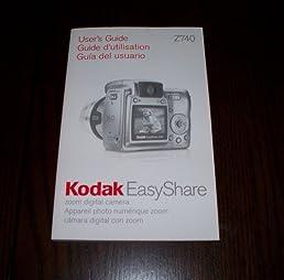 kodak easyshare printer dock 3 soom digital camera z 740 user s rh amazon com Top 10 Digital Photography Books By Scott Kelby Digital Photography Book