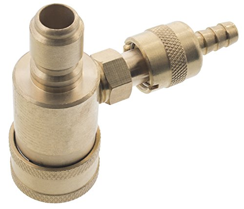 Erie Tools Pressure Washer 3/8'' Quick Connect Adjustable Chemical Injector 1.8 mm Orifice by Erie Tools