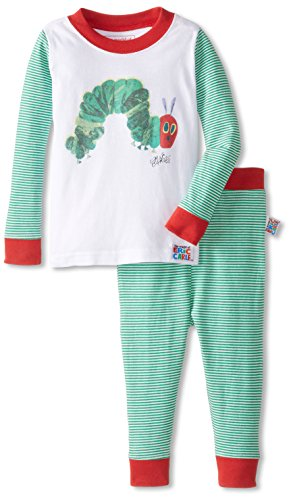 Eric Carle Baby Hungry Caterpillar Cotton Infant Pajama Set, Multi, 18M