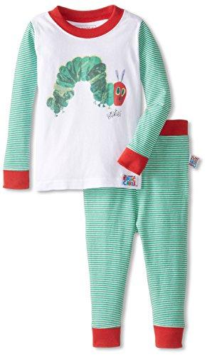 Eric Carle Baby Hungry Caterpillar Cotton Infant Pajama Set, Multi, 24M