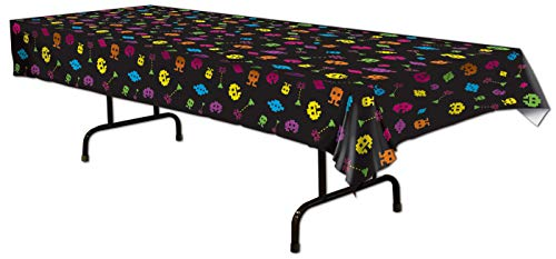 80's Tablecover Party Accessory (1 count) (1/Pkg)]()
