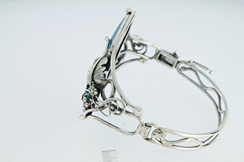Bracelet en Turquoise PU BR392/59 - Bijoux en argent et Turquoise - Diverses pierres possible - ARTIPOL