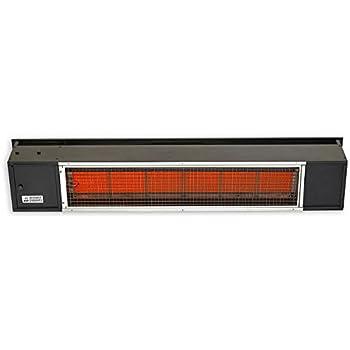 sunpak 48 inch 25000 btu natural gas infrared patio heater black s25 b - Infrared Patio Heater